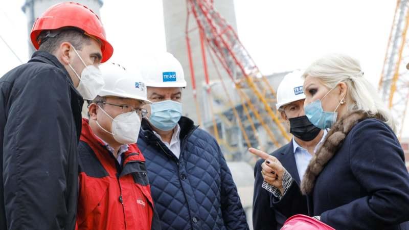 "Mihajlović: Nedopustiva sporost na radovima u Termoelektrani ""Кostolac B"" 1"