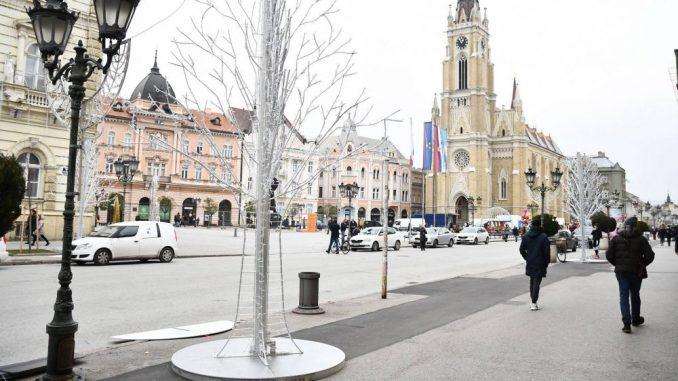 Međusobne optužbe SSP i SNS za nasilje u Novom Sadu 1