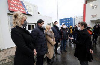 Brnabić: Pacijenti iz Beograda će biti preusmeravani u bolnicu u Batajnici (FOTO) 4