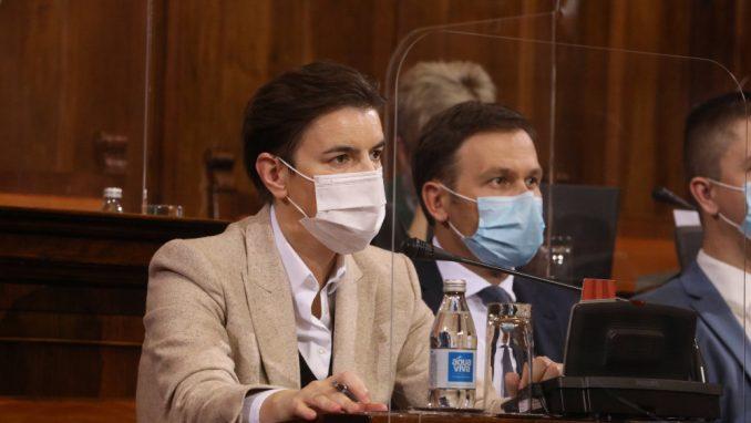 Brnabić: Vlada Srbije čini sve da što pre nabavi vakcinu, iduće godine ogromne kapitalne investicije 1