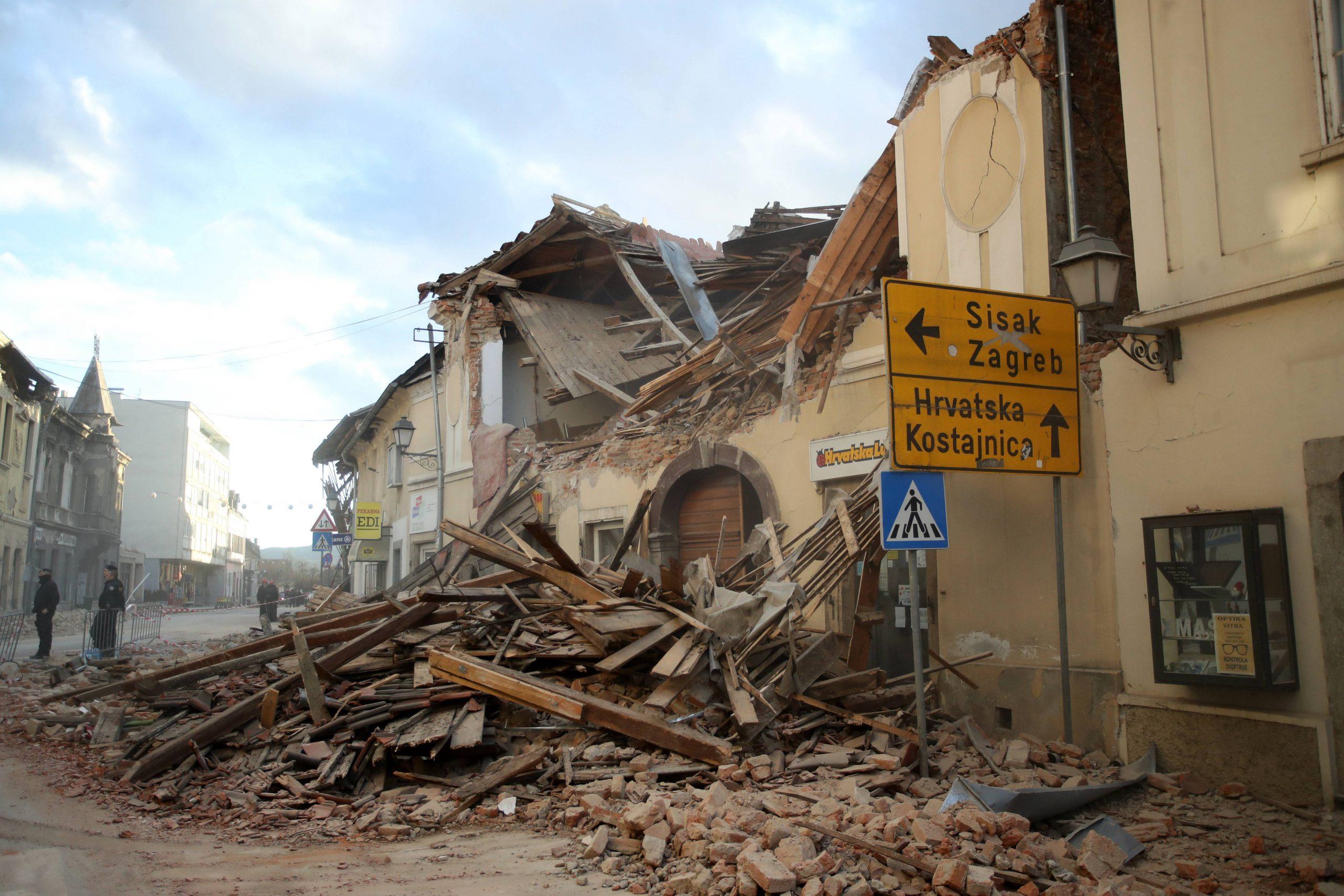 Umeren potres rano jutros kod Petrinje 1