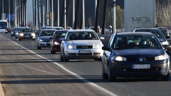 AMSS: Saobraćaj u Srbiji usporen zbog padavina 1