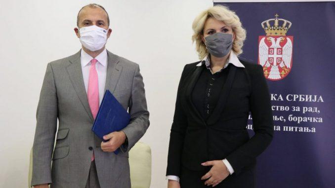 Fabrici: Srbija može da računa i dalje na pomoć EU u teškim vremenima zbog korone 3