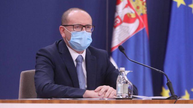 Zoran Gojković: Epidemiološka situacija u Srbiji zabrinjavajuća, broj obolelih raste danima 1