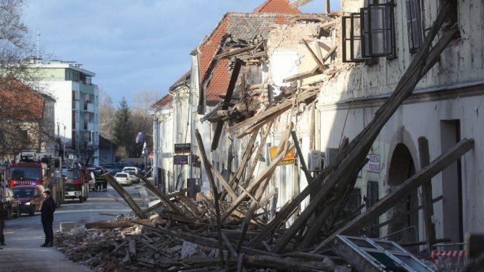 Gradonačelnik Petrinje: I jutrošnji potres pričinio materijalnu štetu 1
