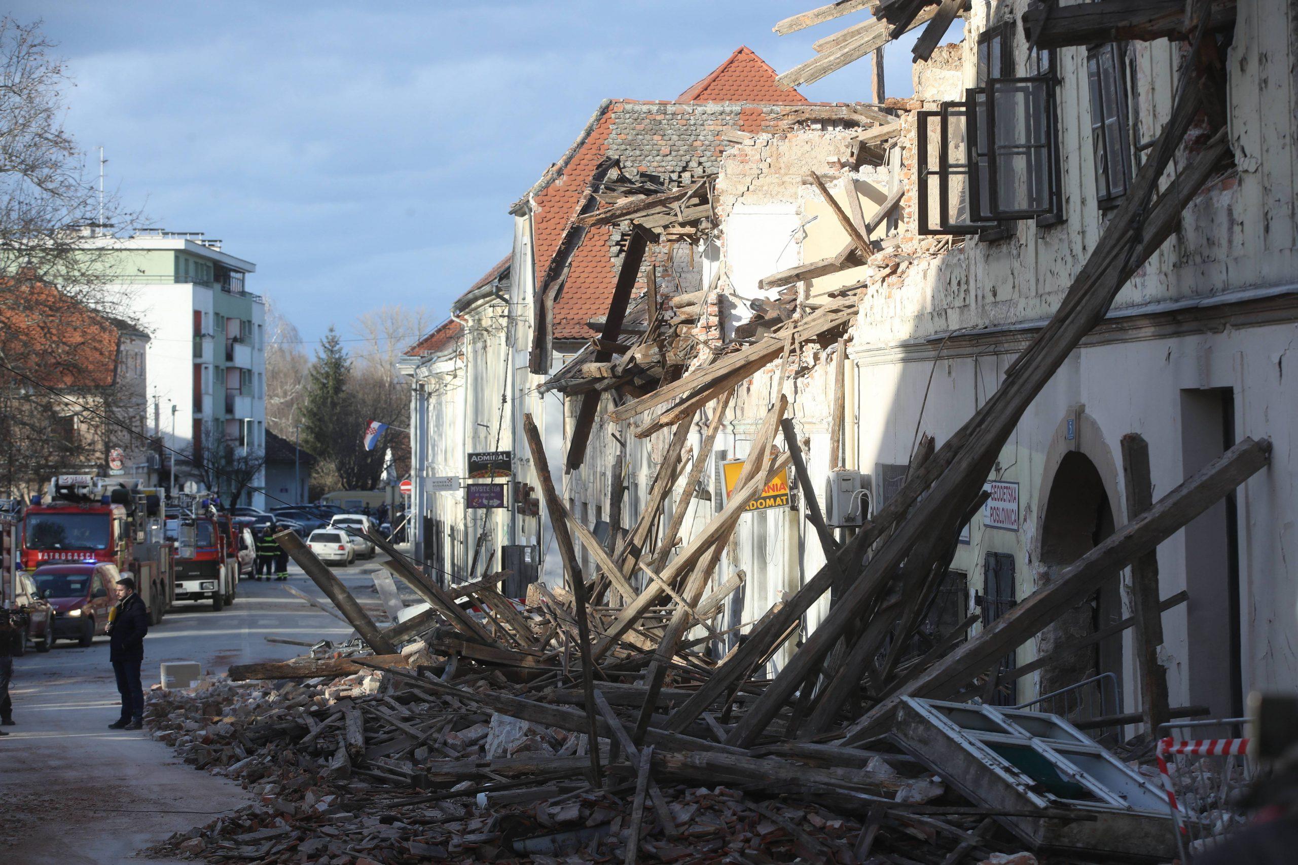 Rano jutros dva potresa kod Petrinje magnituda 3,7 i 3,3 1