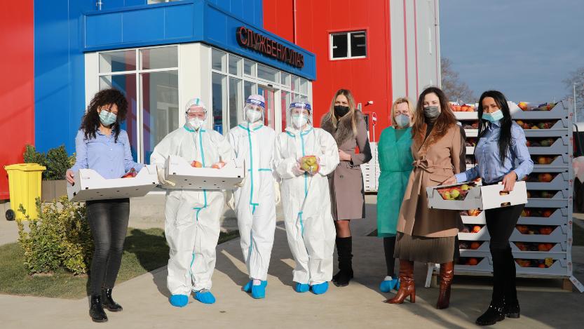 Mozzart podržao lekare u Batajnici donacijom vitaminskih paketa 1
