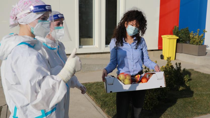 Mozzart podržao lekare u Batajnici donacijom vitaminskih paketa 2