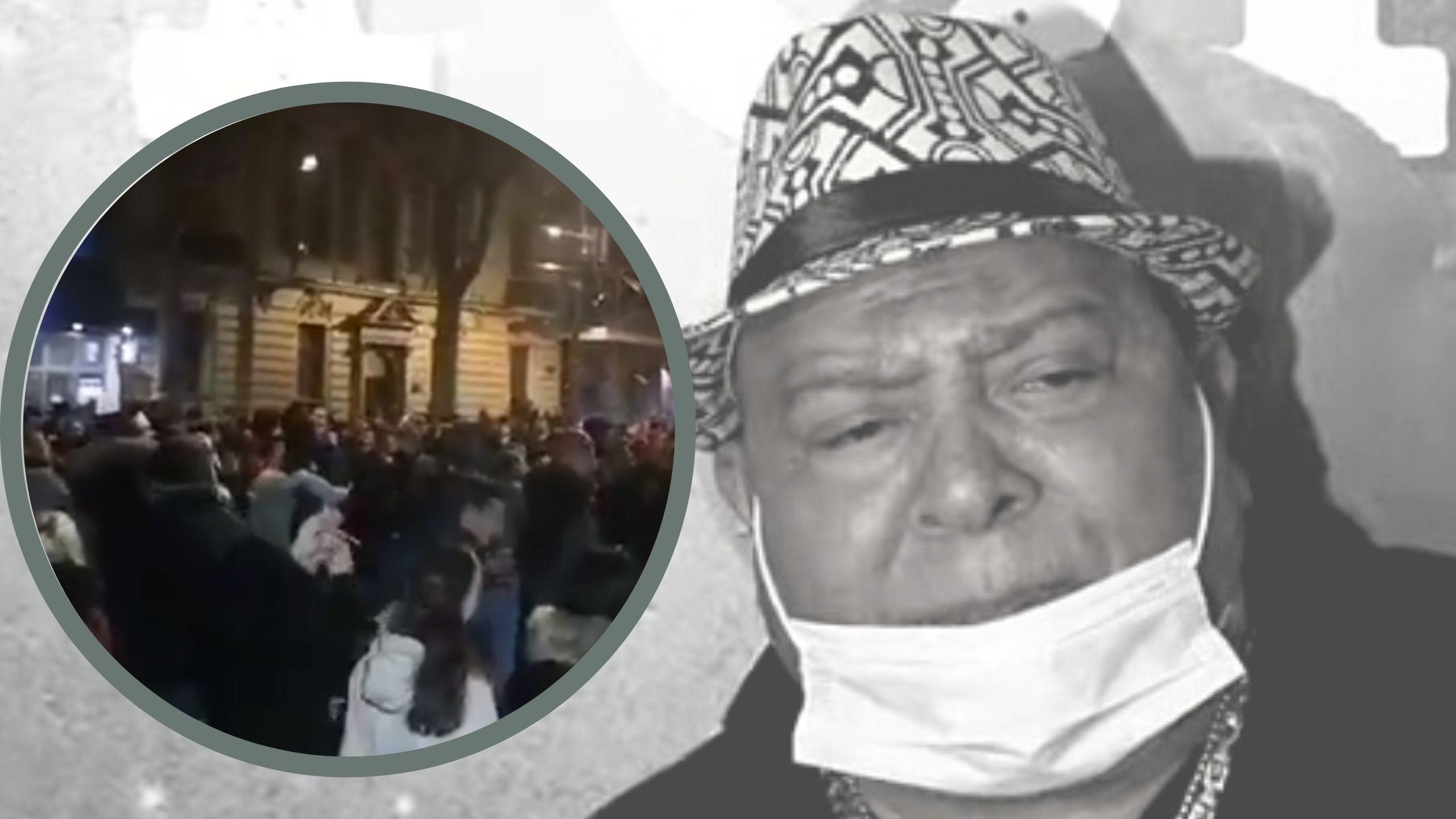 Dorćolci se opraštaju od pevača Džeja Ramadanovskog (VIDEO) 1