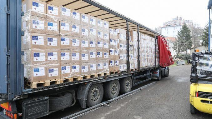 U Srbiju stigla donacija EU opreme za borbu protiv pandemije 7