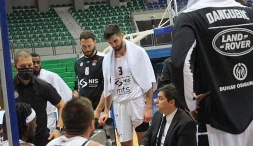Partizan posle produžetka izgubio od Mornara 14