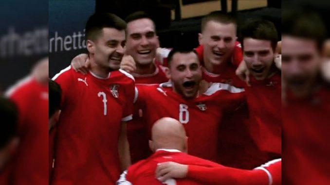 Futsal reprezentacija Srbije se plasirala na Svetsko prvenstvo 4