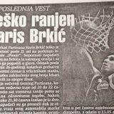 Dve decenije od nerazjašnjenog ubistva Harisa Brkića 1