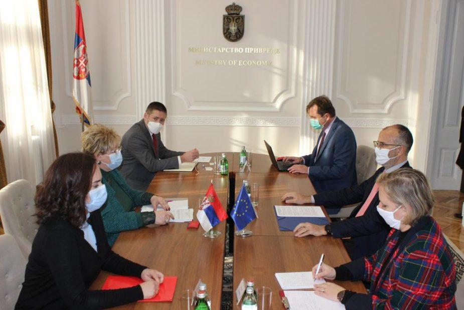 Fabrici sa ministarkom privrede: EU spremna da nastavi da pomaže Srbiju 1