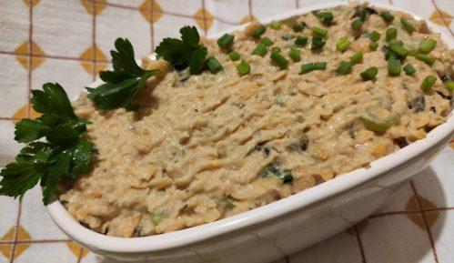 Vege recept: Lažna salata od tune 3