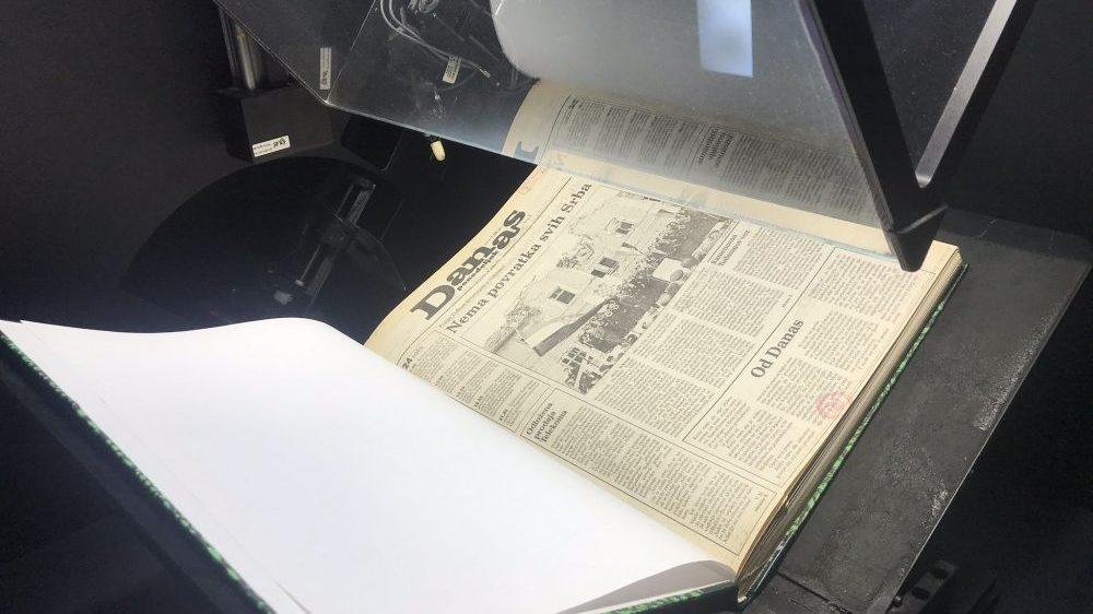 List Danas digitalizovao kompletnu arhivu 1