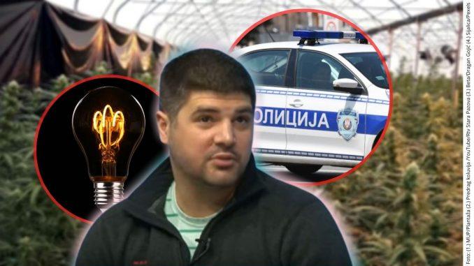 Koluvija tvrdi da je policija proizvodila kanabis u Jovanjici 1