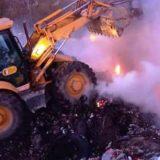 Požar na deponiji u Kučevu 6