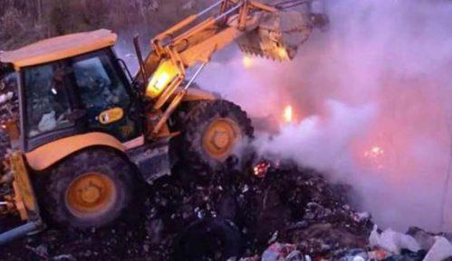 Požar na deponiji u Kučevu 4