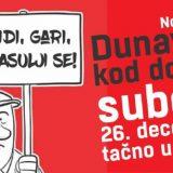 Nova akcija odbrane Dunavca 26. decembra na Dolmi 15