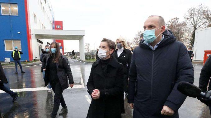 Brnabić: Pacijenti iz Beograda će biti preusmeravani u bolnicu u Batajnici (FOTO) 1