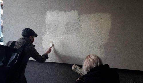 Prekrečeni grafiti mržnje u Novom Sadu 4