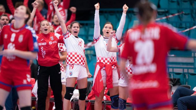 Rukometašice Hrvatske eliminisale Srbiju sa EP 1