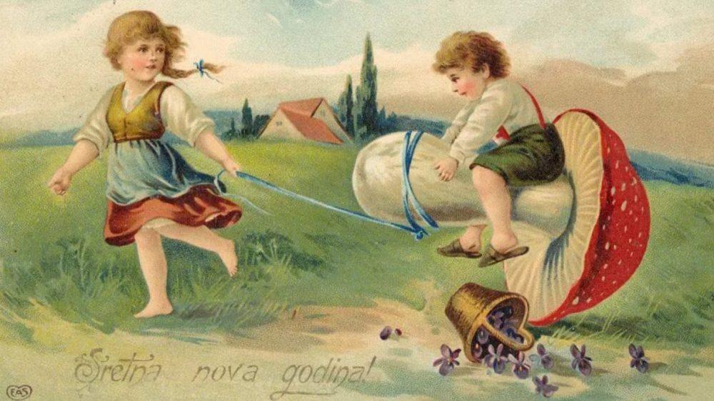Kako su izgledale božićne čestitke kroz istoriju? (FOTO) 5