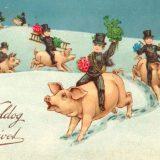 Kako su izgledale božićne čestitke kroz istoriju? (FOTO) 1