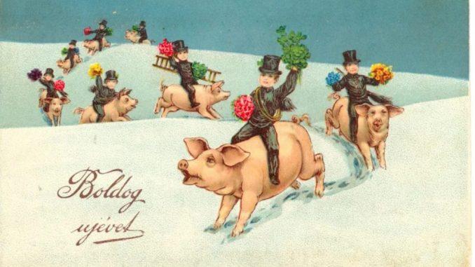 Kako su izgledale božićne čestitke kroz istoriju? (FOTO) 3