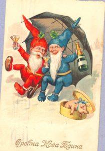 Kako su izgledale božićne čestitke kroz istoriju? (FOTO) 7