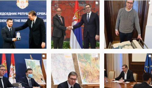 Vučić dominira na Instagramu, Đilas i Jeremić sve aktivniji 12