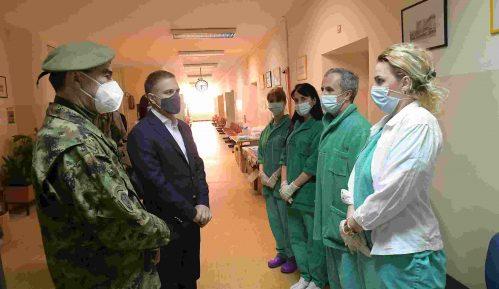 Stefanović: Kroz vojno zdravstvo u kovid sistemu prošlo do sada više od 5.000 ljudi 14