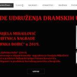 Udruženje dramskih umetnika donelo odluku o dobitnicima nagrada za 2019. 2