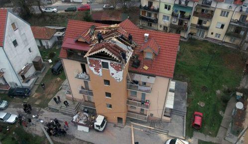 Pomoć stanarima zgrade u Užicu oštećene u eksploziji gasa 1