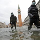 Posle poplave znamenitosti Venecije pod vodom (FOTO, VIDEO) 15