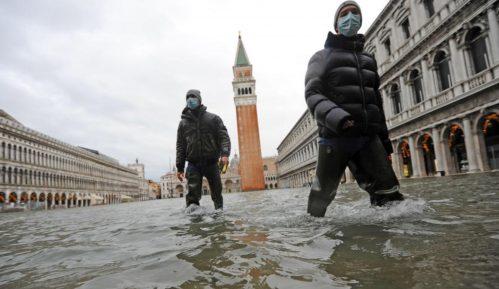 Posle poplave znamenitosti Venecije pod vodom (FOTO, VIDEO) 5
