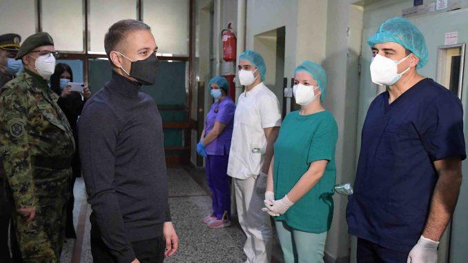 Vojna bolnica Niš od danas u Kovid sistemu, kapacitet za 50 pacijenata 1