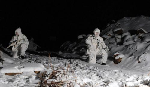 Obuka izviđača Kopnene vojske u zimskim uslovima 2