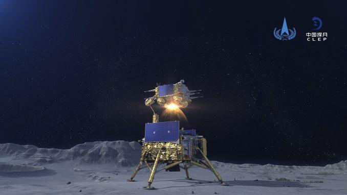 Kineska kapsula sletela na Zemlju noseći kamen sa Meseca 3