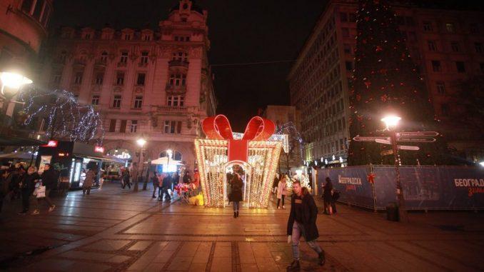 Novogodišnja noć u centru Beograda protekla mirno (FOTO) 1
