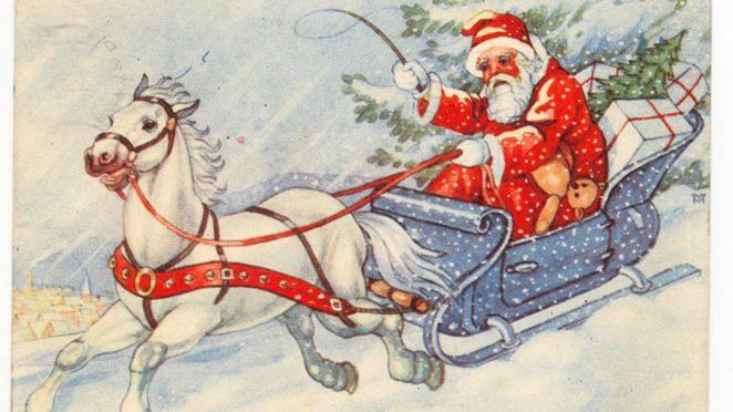 Kako su izgledale božićne čestitke kroz istoriju? (FOTO) 9