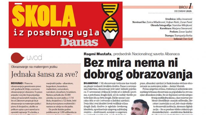 Specijalni dodatak Danasa - Škola iz posebnog ugla (PDF 1) 1