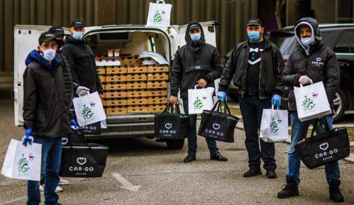 CarGo Batleri donirali 1.000 obroka za 500 medicinara u Intitutu Banjica 2