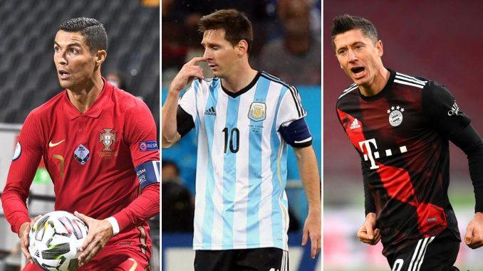 Levandovski, Mesi i Ronaldo u izboru za najboljeg igrača Fife 5
