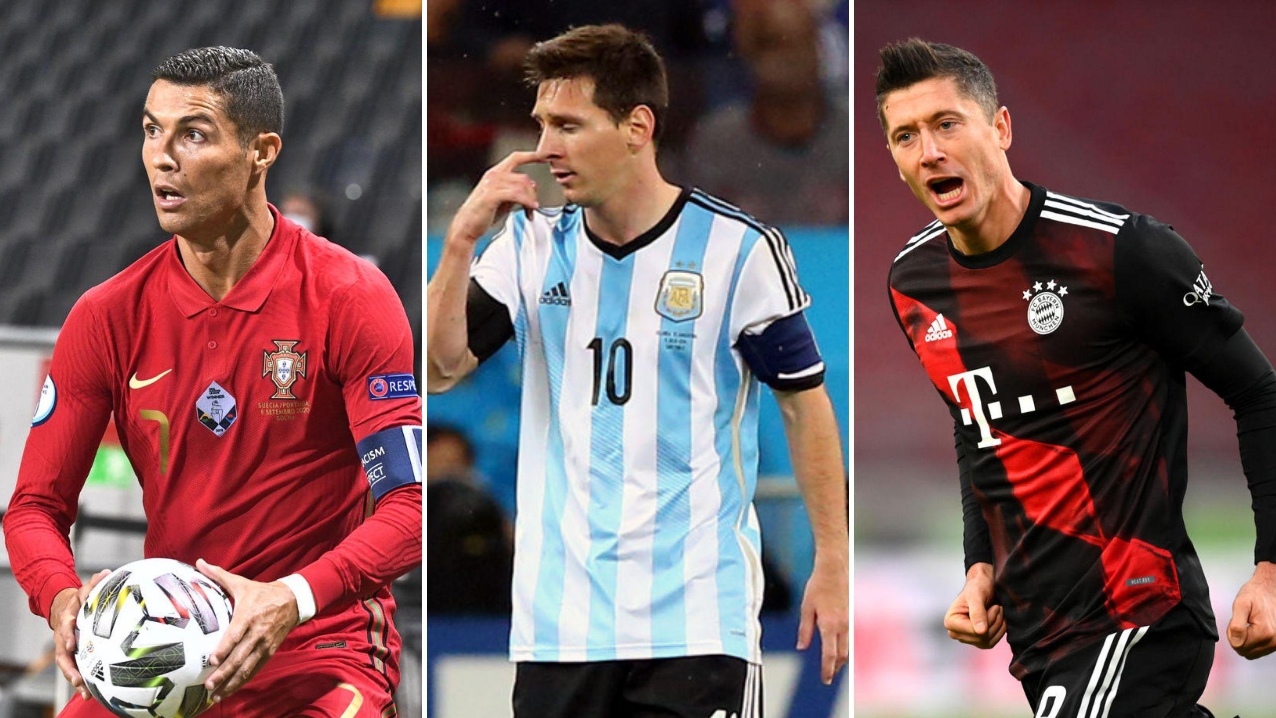 Levandovski, Mesi i Ronaldo u izboru za najboljeg igrača Fife 1