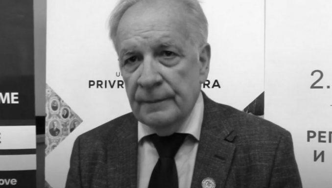 Akademik Ninoslav Stojadinović preminuo od korona virusa 1