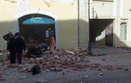 Snažan zemljotres u Hrvatskoj, ima žrtava, podrhtavanje se osetilo i u Srbiji (VIDEO) 7