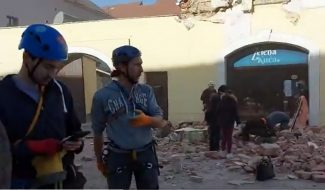 Snažan zemljotres u Hrvatskoj, ima žrtava, podrhtavanje se osetilo i u Srbiji (VIDEO) 10