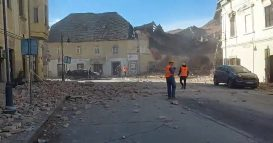 Snažan zemljotres u Hrvatskoj, ima žrtava, podrhtavanje se osetilo i u Srbiji (VIDEO) 14